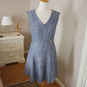 ANN TAYLOR fully lined fit-and-flare dress